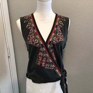 Free people embroidered top